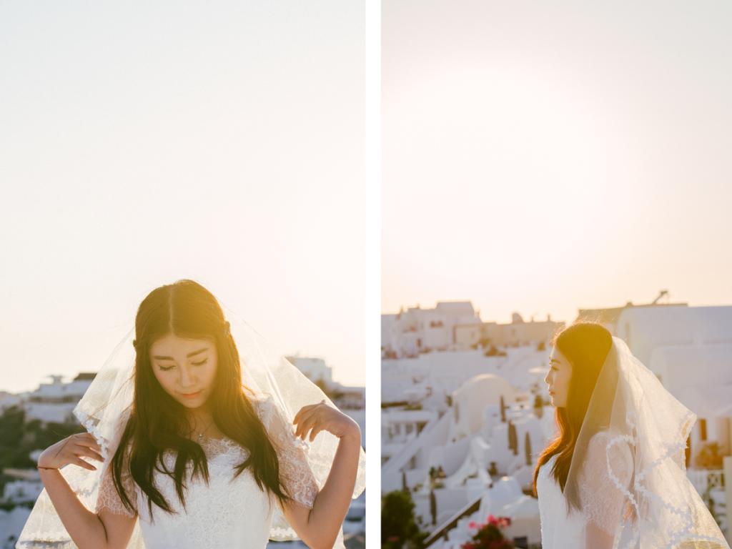 Φωτογράφηση Γάμου Στην Καλδέρα Σαντορίνης